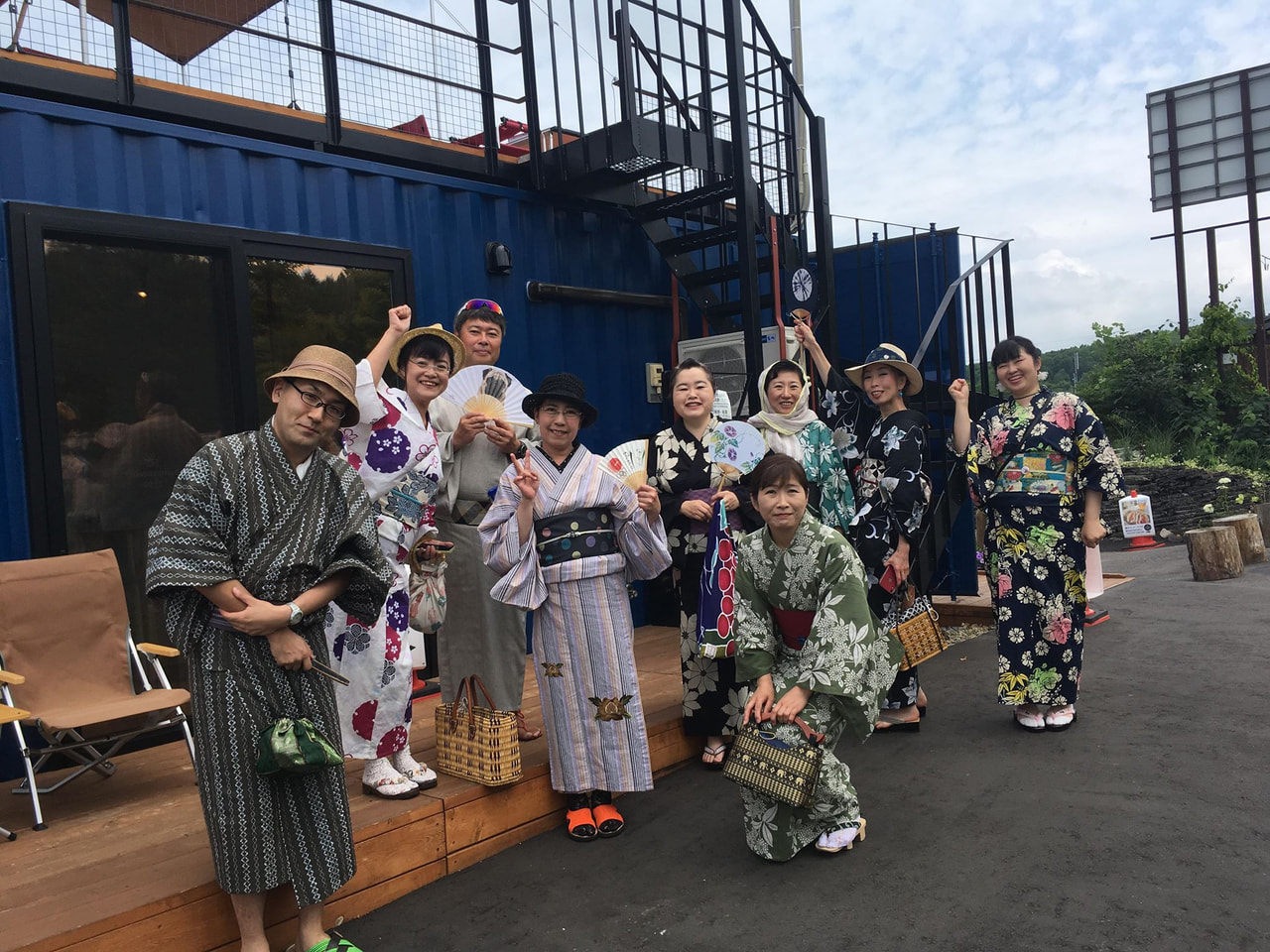 旭川きもの部さんのイベントが開催されました!