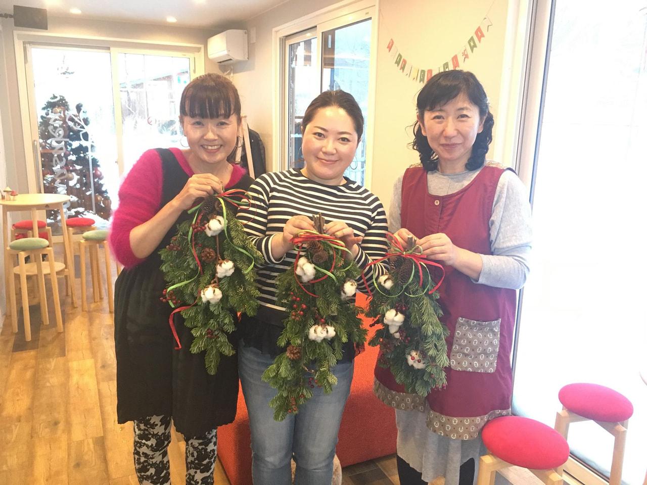 12月8日、ハナサクカフェ初めてのワークショップ!