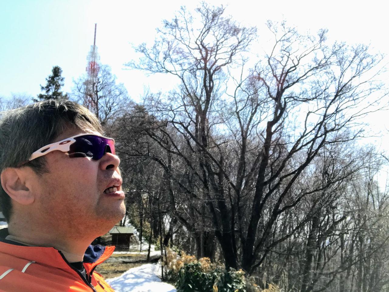 早春旭山トレイルラン